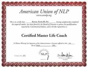 Certified Master Life Coach
